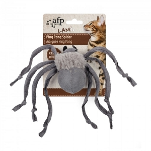 AFP Cat Ping Pong Spider Toy