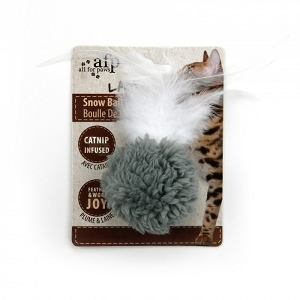 AFP Cat Snow Ball Toy