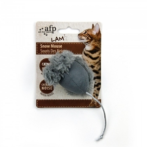 AFP Cat Snow Mouse Toy