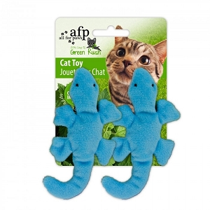 AFP Green Rush Cat Gecko Toy