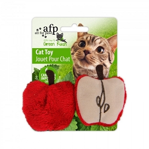 AFP Green Rush Cat Juicy Toy
