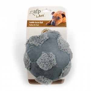 AFP Lambswool Cuddle Soccer Ball