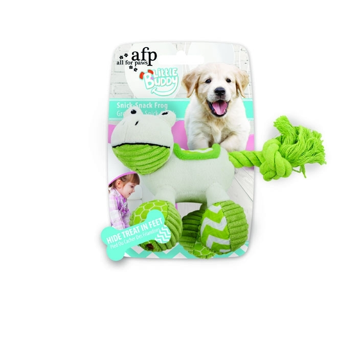 AFP Little Buddy Snick Snack Frog Toy