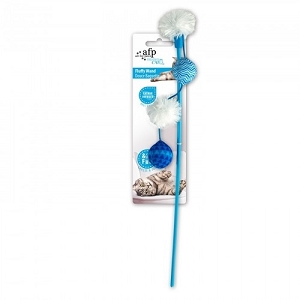 AFP Modern Cat Fluffy Wand Toy