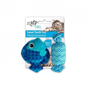 AFP Modern Cat Sweet Tooth Fish Toy