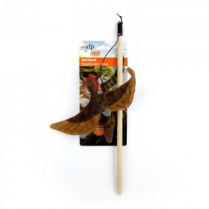 AFP Natural Instincts Flying Bird Wand Toy