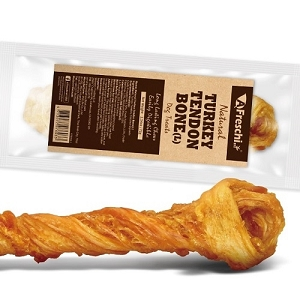 [2 For $16] Afreschi Natural Turkey Tendon Large - Bone / Braid