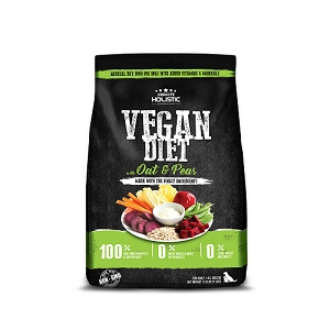 Absolute Holistic Vegan Diet with Oats and Peas Dry Dog Food