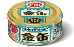 Aixia Kin-can mini Canned Tuna with Shirasu (Whitebait)