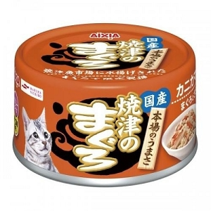 Aixia Yaizu-no Canned Maguro Tuna & Chicken with Crabstick