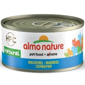 Almo Nature Canned HFC Natural Mackerel Cat Food