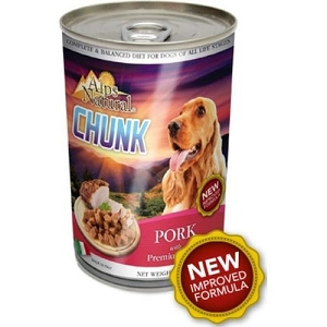 Alps Natural Classic Canned Pork Chunk with Premium Meat