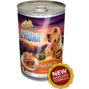 Alps Natural Classic Canned Salmon Chunk with Premium Meat