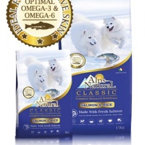 Alps Natural Classic Salmon and Rice Dry Dog Food