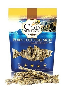 Alps Natural Cod Supreme Codfish Braids Dog Treat