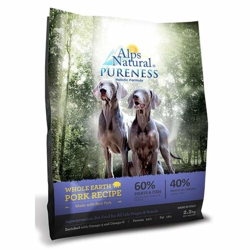 Alps Natural Pureness Holistic Whole Earth Pork Recipe Dry Dog Food