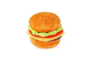 P.L.A.Y American Classic Mini Burger Plush Toy