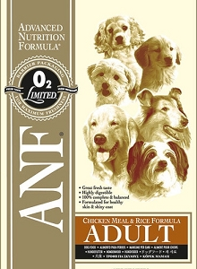 ANF Chicken Meal & Rice Adult Formula Dry Dog Food