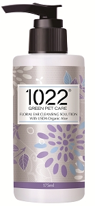 APT1022 Green Pet Care Floral Ear Cleansing