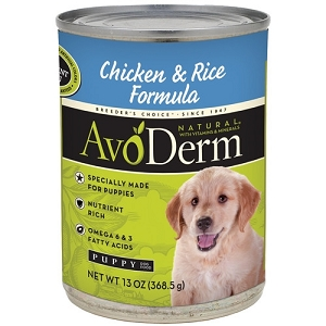 AvoDerm Puppy Chicken & Rice Formula