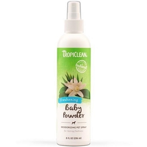 Tropiclean Baby Powder Deodorizing Pet Spray 8oz