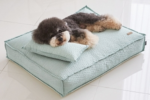 Barbichon Ripple Snug Bed - Mint