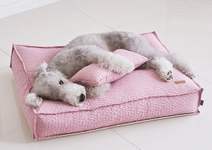 Barbichon Ripple Snug Bed - Pink
