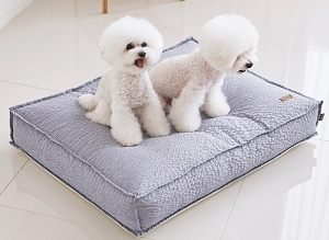 Barbichon Ripple Snug Bed - Blue