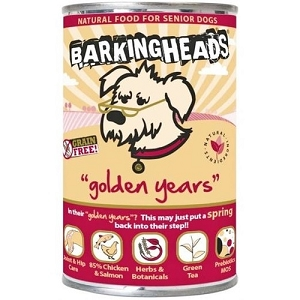 Barking Heads Canned Grain Free Golden Years Senior Dog Food