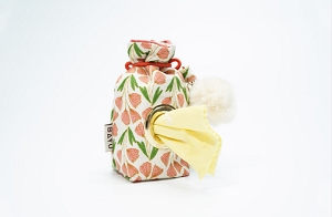 BAYU Bloom Coral Flower Poo Bag