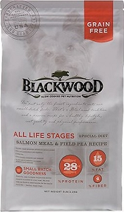 Blackwood All Life Stages Special Diet Grain Free Salmon Meal & Field Pea Dry Dog Food