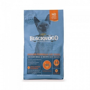 Blackwood Chicken Meal & Brown Rice Recipe Indoor Formula Dry Cat Food