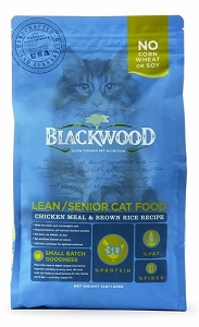 Blackwood Chicken Meal & Brown Rice Recipe Lean/Senior Dry Cat Food