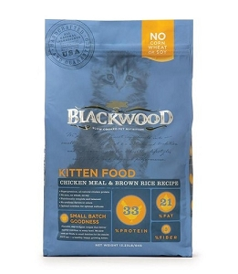 Blackwood Chicken Meal & Rice Recipe Kitten Formula Dry Cat Food
