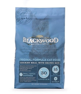 Blackwood Chicken Meal with Brown Rice Original Formula Dry Cat Food