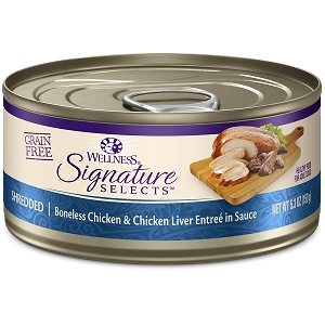 Wellness Cat Canned Core Signature Select Shredded Chicken & Chicken Liver