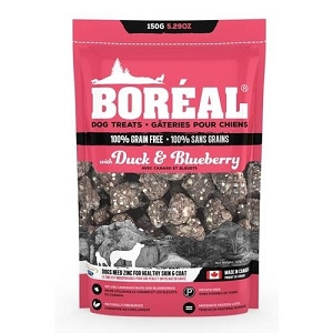 Boreal Duck & Blueberry Grain Free Dog Treats 150gm