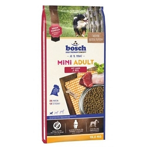 Bosch High Premium Mini Adult Lamb & Rice Dry Dog Food