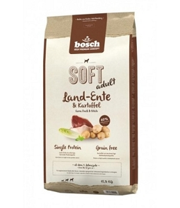 Bosch High Premium Soft+ Adult Farm Duck & Potato Dry Dog Food
