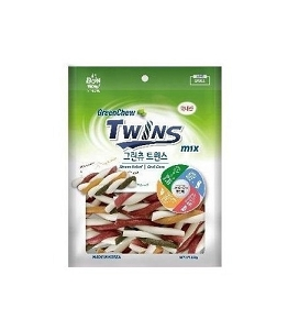 Bow Wow Green Chew Dental Twins