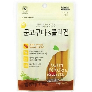 Bow Wow Sweet Potato & Collagen Stick