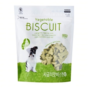 Bow Wow Vegetable Biscuit 220gm