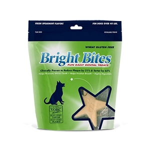 Bright Bites Fresh Spearmint Daily Dental Dog Treats