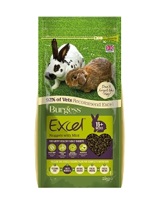 Burgess Excel Nuggets with Mint for Adult Rabbits 2kg