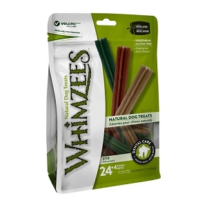 [BUY 2 FREE 1] Whimzees Value Bag Stix S (24pcs)