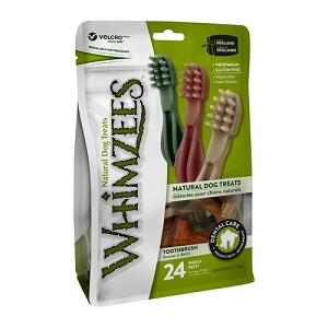 [BUY 2 FREE 1] Whimzees Value Bag Toothbrush S (24pcs)