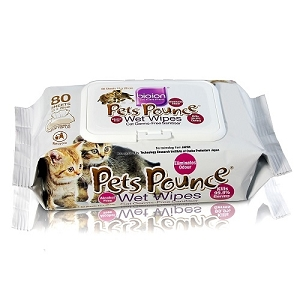 BioIon Pets Bounce Wet Wipes 80sheets