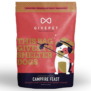 GivePet Campfire Feast Grain Free Small Batch Cookie Treats