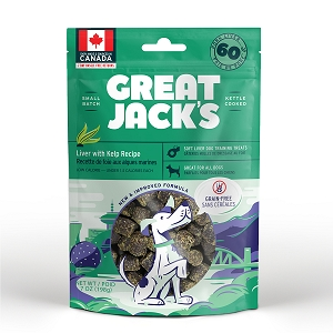 Canadian Jerky Great Jack's Liver with Kelp Recipe