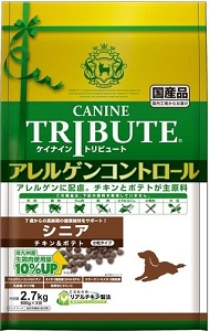 Canine Tribute Algen Control Chicken and Potato Senior Dry Dog Food